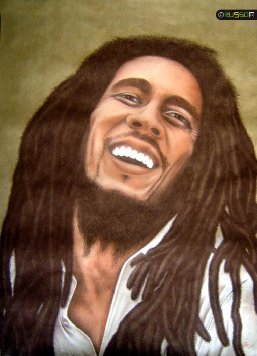 Bob Marley by RUSSO